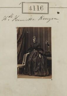 Hon. Henrietta Kenyon, by Camille Silvy - NPG Ax54131