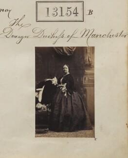 Harriet Sydney Montagu (née Dobbs), Duchess of Manchester, by Camille Silvy - NPG Ax62795