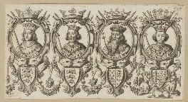 King Edward I; King Edward II; King Edward III; King Richard II, after Unknown artist - NPG D34137