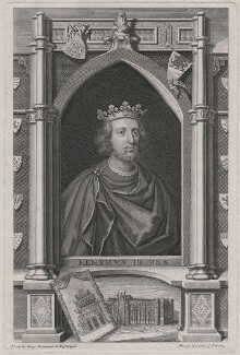 King Henry III, by George Vertue - NPG D34180