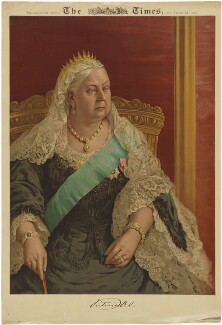 Queen Victoria, after Ino I. Offord - NPG D33656
