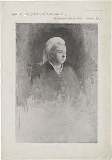 Queen Victoria, after Solomon Joseph Solomon - NPG D33657