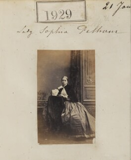Sophia Adelaide Theodosia (née Anderson-Pelham), Countess of Eglinton, by Camille Silvy - NPG Ax51319
