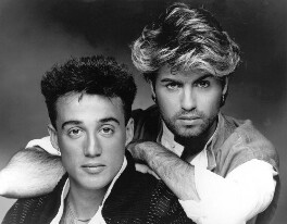 Wham! (George Michael; Andrew Ridgeley), by John Swannell - NPG x25284