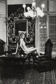Charlotte Rampling, by Helmut Newton - NPG x32395