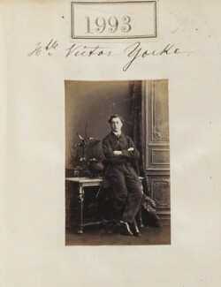Hon. Victor Alexander Yorke, by Camille Silvy, 31 January 1861 - NPG Ax51383 - © National Portrait Gallery, London