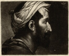 Head of Executioner, by Richard Houston, after  Prince Rupert, Count Palatine - NPG D4995