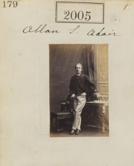 Allan Shafto Adair, by Camille Silvy, 1 February 1861 - NPG Ax51395 - © National Portrait Gallery, London