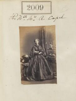 Mary Eliza Capel (née Fazakerley), by Camille Silvy - NPG Ax51399