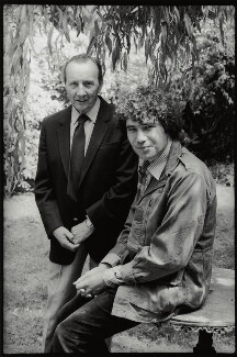 Sir Lennox Randal Francis Berkeley; Michael Fitzhardinge Berkeley, by Angela Gorgas, 1977 - NPG x133026 - © Angela Gorgas