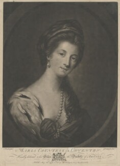 Maria (née Gunning), Countess of Coventry, by John Finlayson, after  Katharine Read - NPG D34185