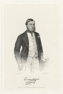 George William Coventry, 9th Earl of Coventry, by Joseph Brown, after  John Jabez Edwin Mayall - NPG D34189