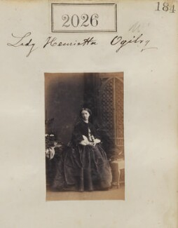 Lady Henrietta Louisa Ogilvy (née Fermor), by Camille Silvy - NPG Ax51416