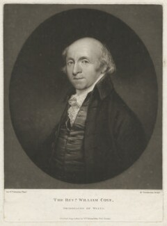 William Coxe, by Robert Dunkarton, published by  William Richardson, after  Sir William Beechey - NPG D34203