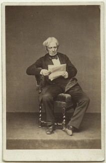 Michael Faraday, by John & Charles Watkins, 1860s - NPG x13928 - © National Portrait Gallery, London