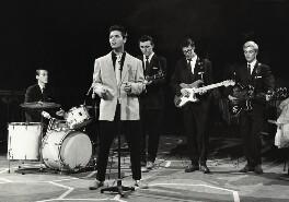 Cliff Richard and The Shadows' (Tony Meehan; Sir Cliff Richard; Bruce Welch; Hank Marvin; Jet Harris), by Harry Hammond - NPG x132382