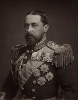 Prince Alfred, Duke of Edinburgh and Saxe-Coburg and Gotha, probably by Maull & Fox - NPG x8752