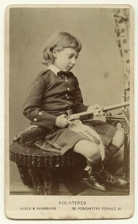 Prince Albert Victor, Duke of Clarence and Avondale, by Hills & Saunders - NPG Ax46175