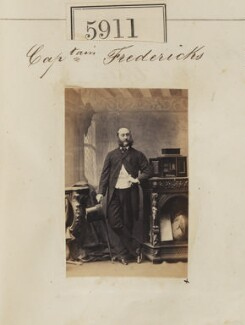 J.W. Fredricks, by Camille Silvy - NPG Ax55866