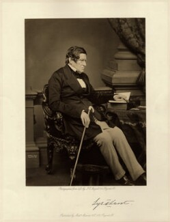 John Singleton Copley, Baron Lyndhurst, by John Jabez Edwin Mayall, published by  A. Marion & Co, 1861 - NPG x132391 - © National Portrait Gallery, London