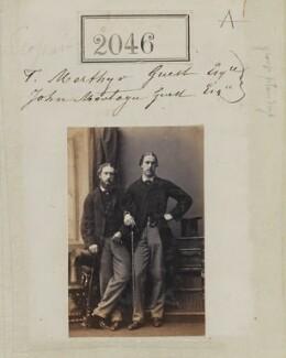 Thomas Merthyr Guest; Montague John Guest, by Camille Silvy - NPG Ax51435