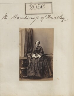 Maria Antoinetta (née Pegus), Marchioness of Huntly, by Camille Silvy - NPG Ax51446