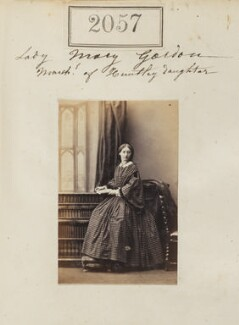 Lady Mary Katherine Turnor (née Gordon), by Camille Silvy - NPG Ax51447