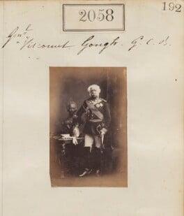 Hugh Gough, 1st Viscount Gough, by Camille Silvy - NPG Ax51448