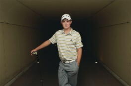 Justin Rose, by Sam Holden - NPG x132385