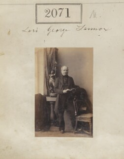 Lord George Charles Gordon-Lennox, by Camille Silvy - NPG Ax51461