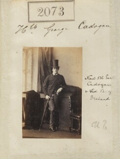 George Henry Cadogan, 5th Earl Cadogan, by Camille Silvy - NPG Ax51463