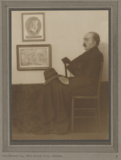 Sir Max Beerbohm, by (Alexander Bell) Filson Young, 1916 - NPG P864 - © National Portrait Gallery, London