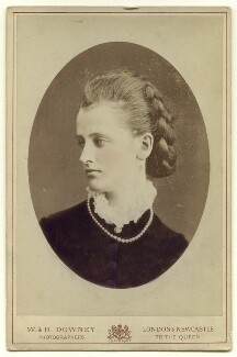 Elizabeth Harriet (née Grosvenor), Marchioness of Ormonde, by W. & D. Downey, circa 1882 - NPG x132394 - © National Portrait Gallery, London