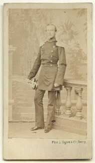 Louis IV, Grand Duke of Hesse and by Rhine, by L. Haase & Co, 1860s - NPG x132395 - © National Portrait Gallery, London