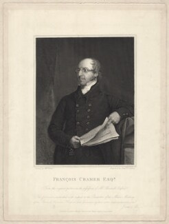 Franz or François Cramer, by Benjamin Phelps Gibbon, after  William Watts - NPG D34212