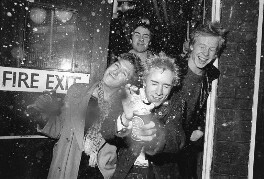 The Sex Pistols, by Peter Vernon - NPG x88356