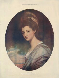 Elizabeth Craven (née Berkeley), Margravine of Brandenburg-Ansbach, after George Romney, published 1902 (1778) - NPG D34224 - © National Portrait Gallery, London