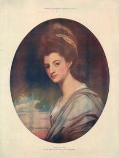 Elizabeth Craven (née Berkeley), Margravine of Brandenburg-Ansbach, after George Romney, published 1902 (1778) - NPG D34224 - © National Portrait Gallery, London