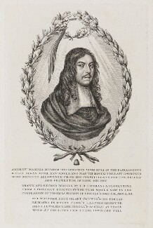 Andrew Marvell, by Giovanni Battista Cipriani, 1760 (1660) - NPG D9356 - © National Portrait Gallery, London
