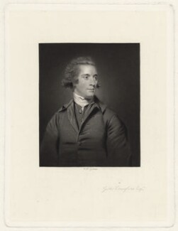 Gibbs Craufurd (Crawfurd), by William Henry Egleton, published by  Henry Graves, after  Sir Joshua Reynolds - NPG D34228