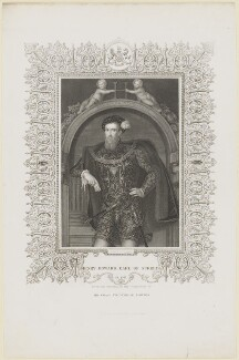 Henry Howard, Earl of Surrey, by John Cochran, after  Unknown artist - NPG D9357