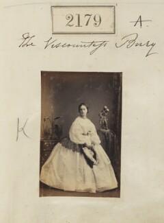 Sophia Mary (née MacNab), Countess of Albemarle, by Camille Silvy - NPG Ax51567