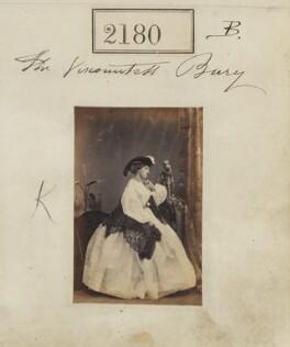 Sophia Mary (née MacNab), Countess of Albemarle, by Camille Silvy - NPG Ax51568