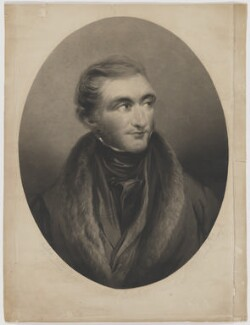 J.M.W. Turner, by Charles Wentworth Wass, after  John Linnell - NPG D9365