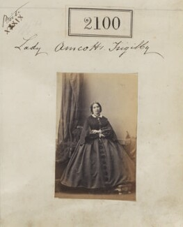 Mary Anne (née Clementson), Lady Amcotts-Ingilby, by Camille Silvy - NPG Ax51490