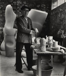 Jean Arp, by Ida Kar - NPG x132405