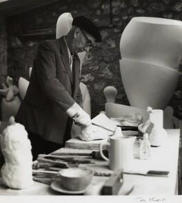 Jean Arp, by Ida Kar, late 1950s - NPG x132406 - © National Portrait Gallery, London