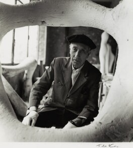 Jean Arp, by Ida Kar - NPG x132409