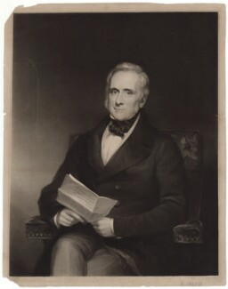 Richard Creed, by Edward McInnes, after  Henry Wyndham Phillips - NPG D34230