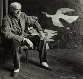 Georges Braque, by Ida Kar - NPG x132416
